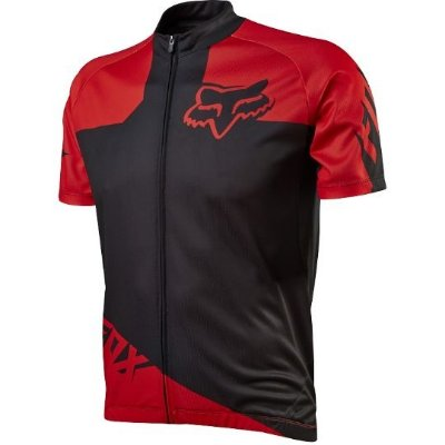 Camisa de Ciclismo Fox Livewire Race Jersey Black/Red Tam. P