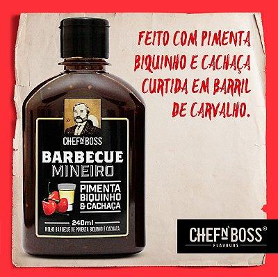 Barbecue Mineiro Pimenta Biquinho & Cachaça (Embalagem Pet 240ml)