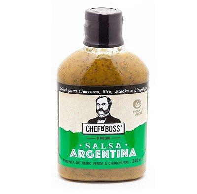 Salsa Argentina: Pimenta Verde e Chimichurri - 240 ml
