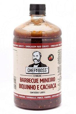BARBECUE MINEIRO PIMENTA BIQUINHO & CACHAÇA - (EMBALAGEM FOOD SERVICE 1,001 L)