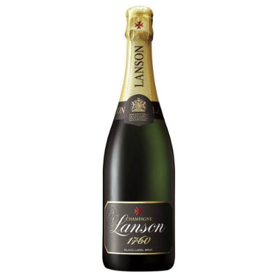 Lanson Black Label Brut Champagne 750 ml