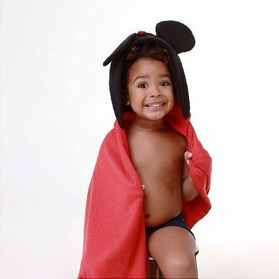Toalha de Banho com Capuz - Mickey
