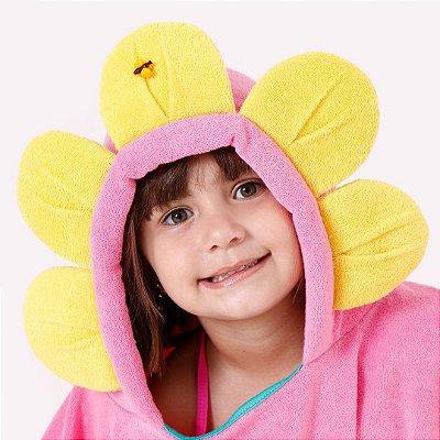 Poncho de Banho - Flor