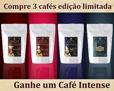 Kit Cafés Especiais - Deusas Egípcias + Café Intense