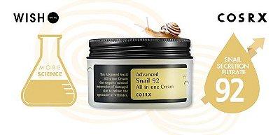 COSRX - Advanced Snail 92 All In One Cream - 100ml