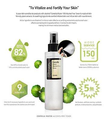COSRX - Centella Water Alcohol Free Toner - 150ml
