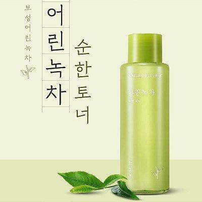 NATURE REPUBLIC - Young Green Tea Mild Toner - 155ml