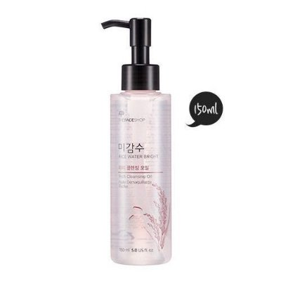 THE FACE SHOP - Rice Water Bright Rich Facial Cleansing Oil - 150ml