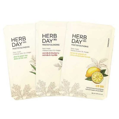 [THE FACE SHOP] Herb Day 365 Master Blending Mask - 23ml