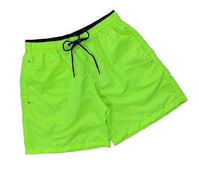 Short Neon Verde Lima