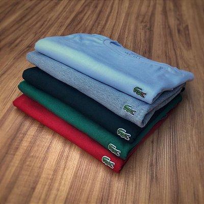 Kit 5 Camisetas Masculinas Lac - Croco Basic