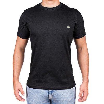 Camiseta Masculina- Lac Croco Preta