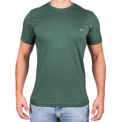 Camiseta Masculina- Lac Croco Verde