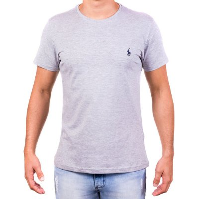 Camiseta Masculina - Da Polo Cinza