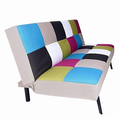 Sofa Cama Fileto Colorido