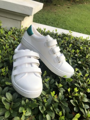Tênis Catarina Branco e Verde