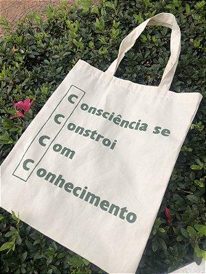 """Ecobag """"Consciência"""""""