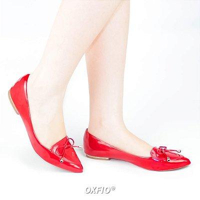 Sapatilha Vermelha Verniz