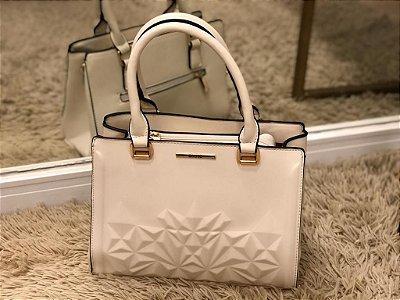 Bolsa Cristal Branca