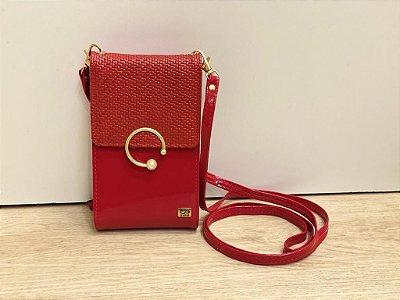 Bolsa Petit Pérol Vermelha