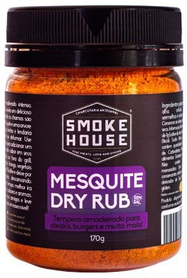 Mesquite Dry Rub - Tempero para Grelhar