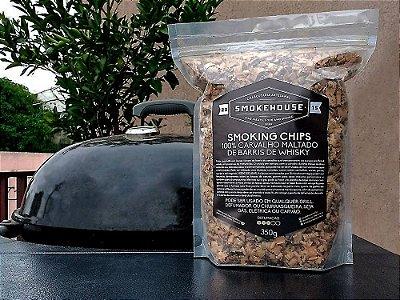 Smoking Chips - Carvalho Maltado de Barril de Whisky para defumação