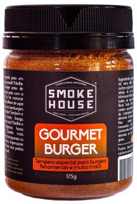 Gourmet Burger - Tempero para Grelhar