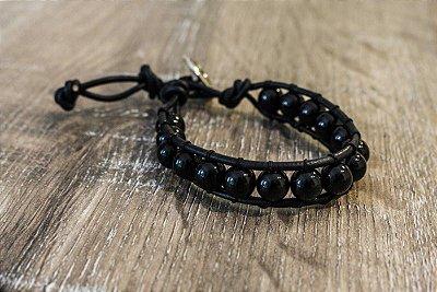Pulseira Black Stones
