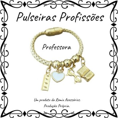 Pulseira Profissões Professora