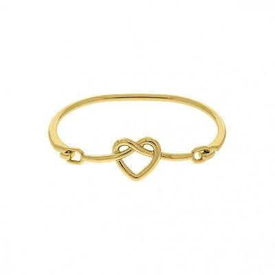 Bracelete Pulseira Feminina Coração