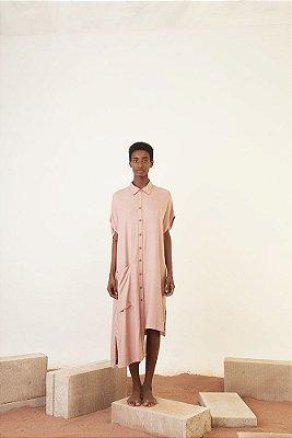 vestido chemise ilha