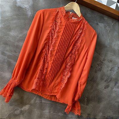 Camisa c/ Renda Coral