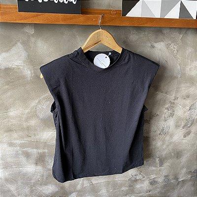 Tshirt Ombreira Preta