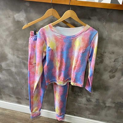 Conjunto Comfy Tie Dye Sunset