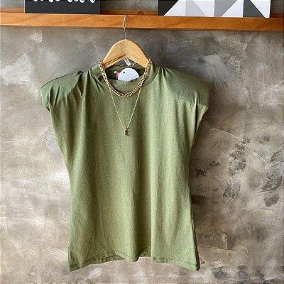 T-Shirt Muscle Verde Militar