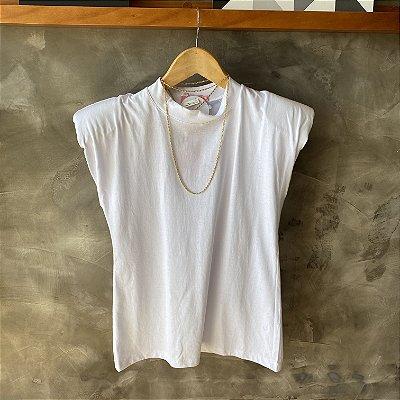 T-Shirt Muscle Branca