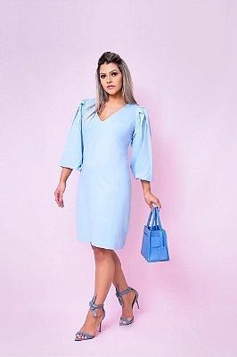 Vestido Romântica Baby Blue