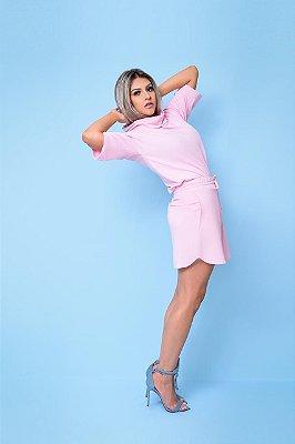 Conjunto Moderna Rosa Barbie
