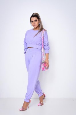 Conjunto Fashion Lavanda