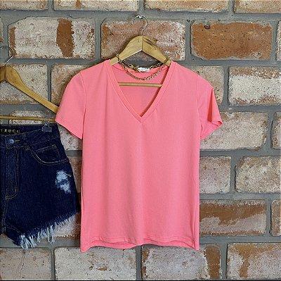 Camiseta Rosa Neon