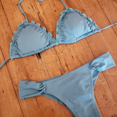 Biquini Ripple Azul Pop Fluity New Beach