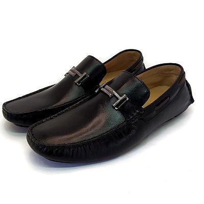 Sapato Mocassim Arpoador Preto
