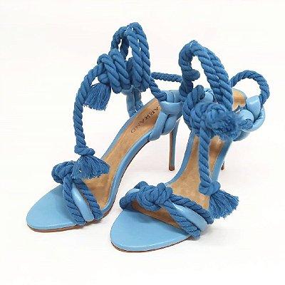 Sandália Carrano Cordas Azul Céu