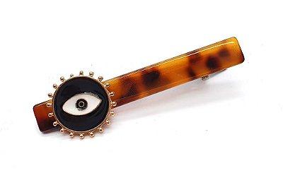 Prendedor metal olho grego