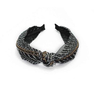 Arco de tecido turbante