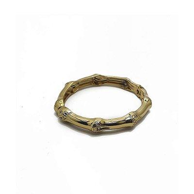 Bracelete metal dourado