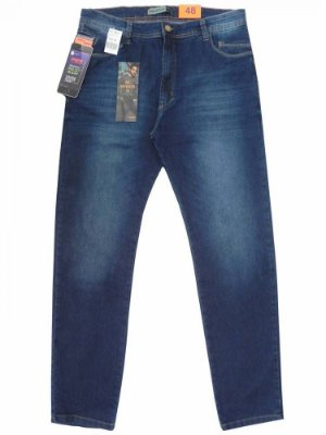 Calça Jeans Masculina AZUL Bolso Celular TG PRS JEANS