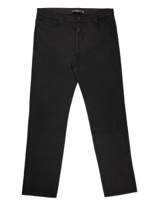 calça sarja prs plus size preta