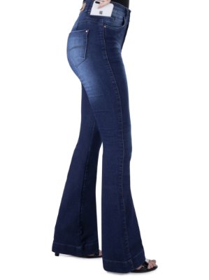 calça jeans prs flare sb used