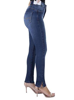calça jeans prs skinny seca barriga laser
